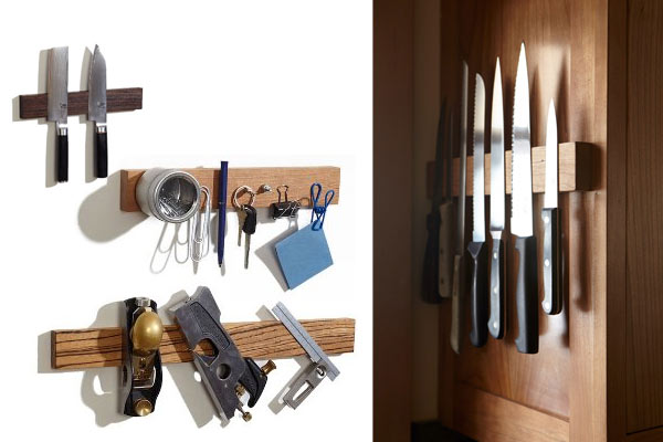 unusual gifts for men magnetic knife holder