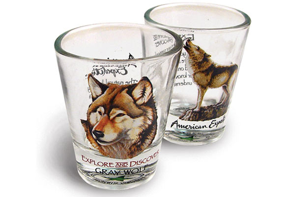 Whiskey Glass Gift Set adventure shot glass