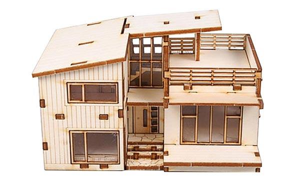 best gift for an architect wooden model kit