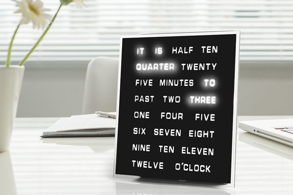 best gift for husband on his birthday digital clock