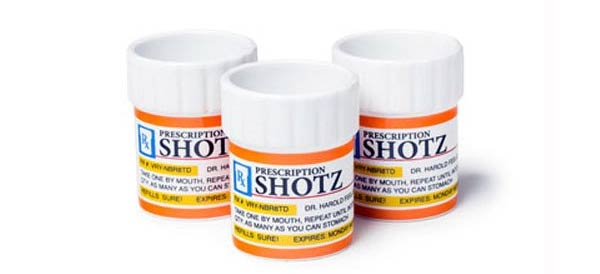 Birthday Gift Ideas For A Doctor Perscription Shot Glass