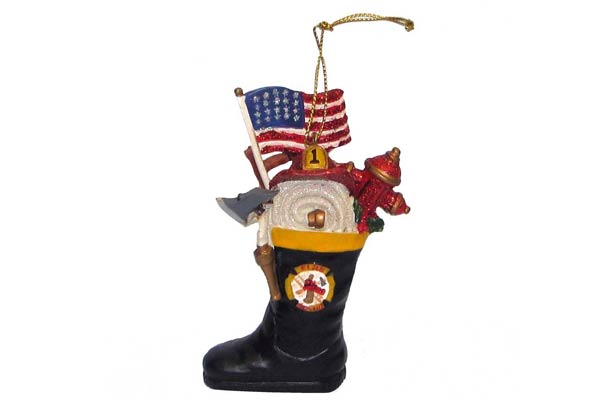 firefighter gifts for men christmas ornament
