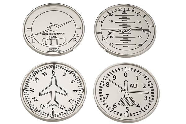 gifts for airplane lovers coaster