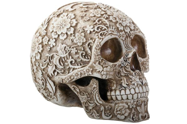 gifts for tattoo artists floral skull