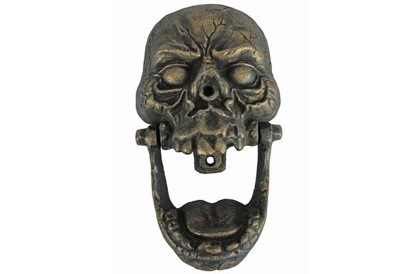 good housewarming gifts for guys skull door knocker