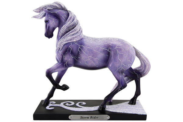 horse gifts for him storm rider figurine