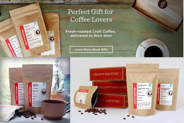monthly gift subscriptions for men craft coffee