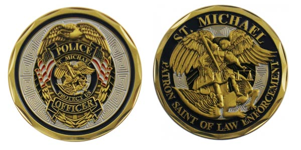 police officer gifts ideas challenge coin