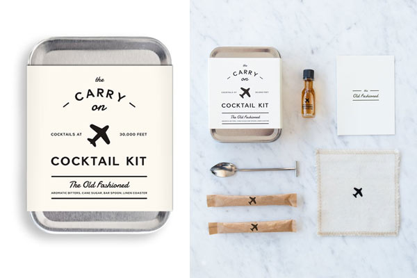 affordable gifts for him cocktail kit