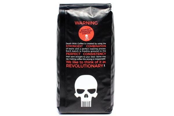 affordable gifts for him death wish coffee