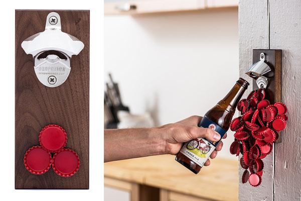 best gifts for guys magnetic bottle opener