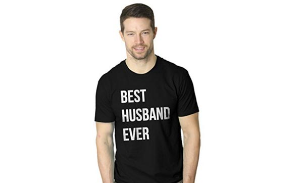 birthday gift ideas for husband t shirt