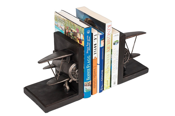 bookend gifts for airplane lover