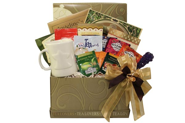 gift baskets for men tea lover