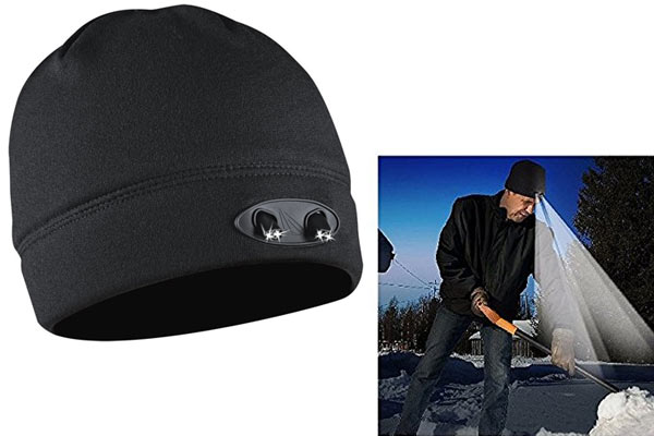 gifts for civil engineers beanie with light
