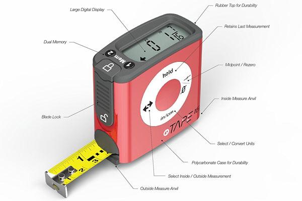 gifts for civil engineers digital tape measurement