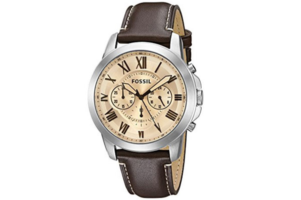 gifts for men under 100 dollars fossil watch