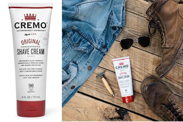 gifts for men under 5 cremo shaving cream
