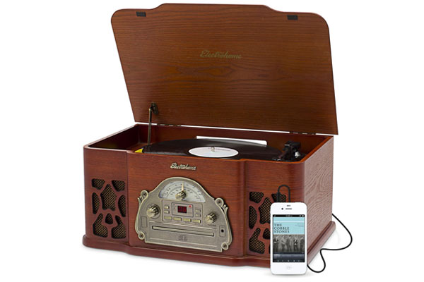gifts under 100 for him electrohome turntable
