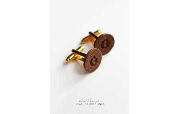 handmade gift ideas for him cufflinks