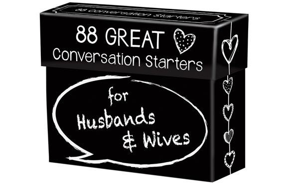 Romantic Birthday Gifts For Husband Conversation Starter