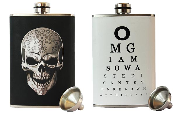 whisky gifts for him flask