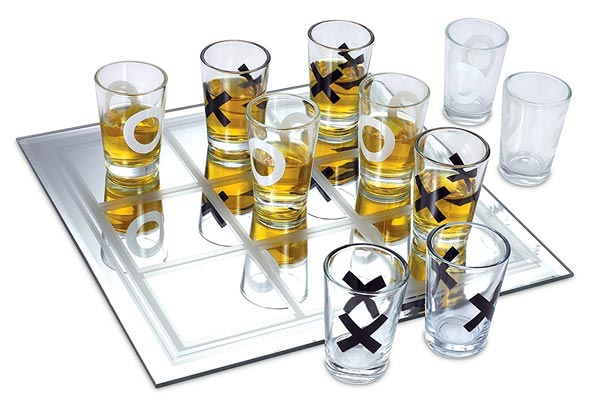 whisky gifts for him tic tac toe