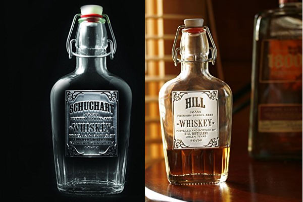 best gift for a man personalize whiskey flask