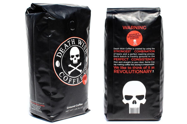 cheap christmas gifts for him death wish ground coffee