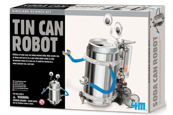 christmas gifts for boys tin can robot