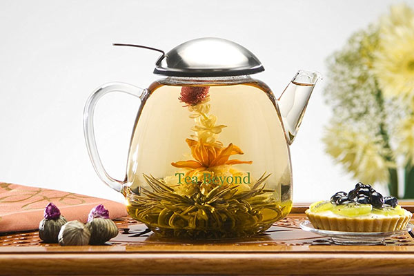 simple gifts for him flower tea