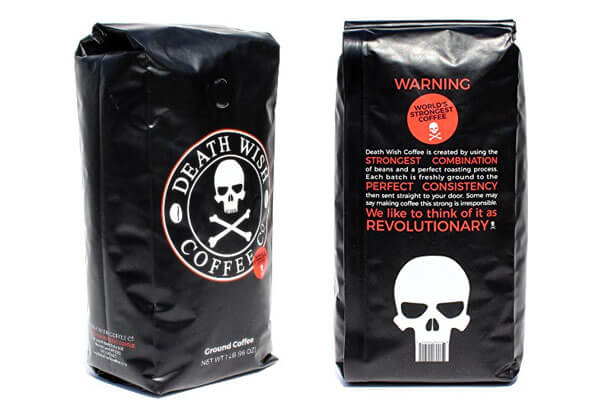 small presents for guys death wish coffee