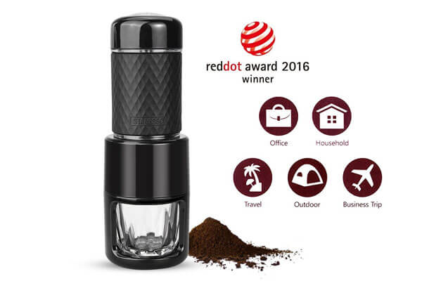 small presents for guys portable coffee maker