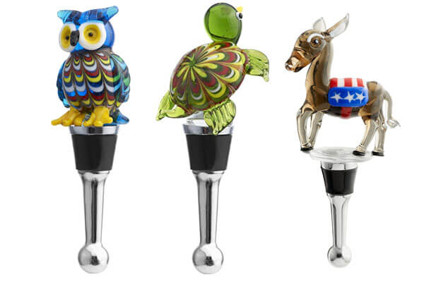 small presents for guys wine stopper