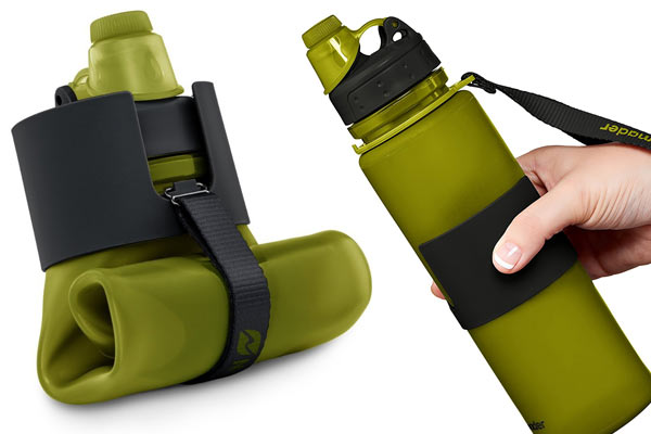 unique birthday gifts for him collapsibe water bottle