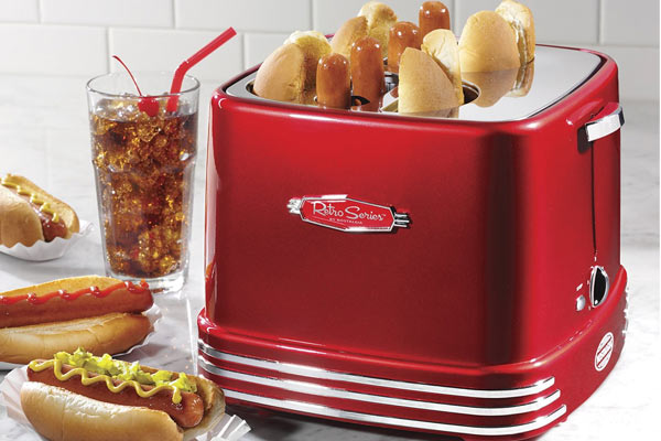 unique birthday gifts for him hot dog toaster