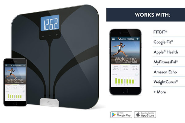 birthday gift for husband smart digital scale