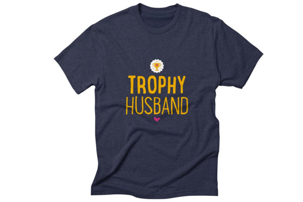 birthday gift for husband trophy husband
