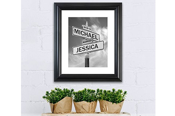 wedding gift for coworker personalized wedding gift