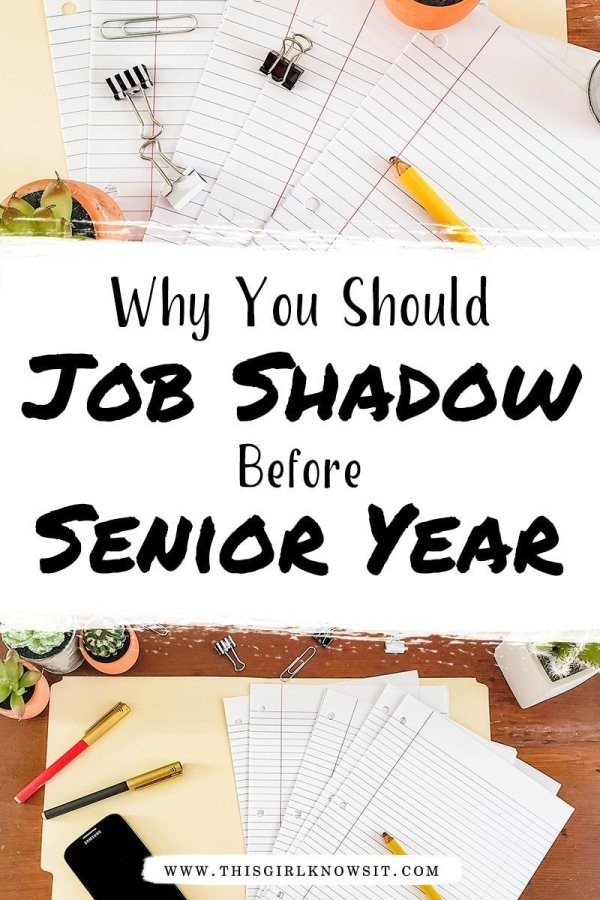 Job shadows can be extremely beneficial to both high school and college students. They can help you decide your college major, your desired career field, and save you money! Check out this post to find out WHY you should job shadow before your senior year of high school or university. #student #jobshadow #careerprep #career