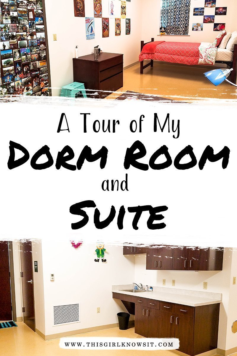 A Tour of My Freshman Dorm Room and Suite