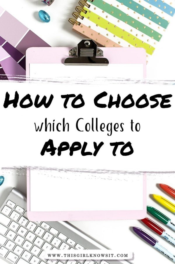 For high schoolers, senior year can be tough, especially when it comes to applying to colleges. After all, how do you know which colleges to apply to? This post breaks down everything you need to know about choosing which colleges and universities to apply to. #college #senior year #highschool #university #collegeapplication