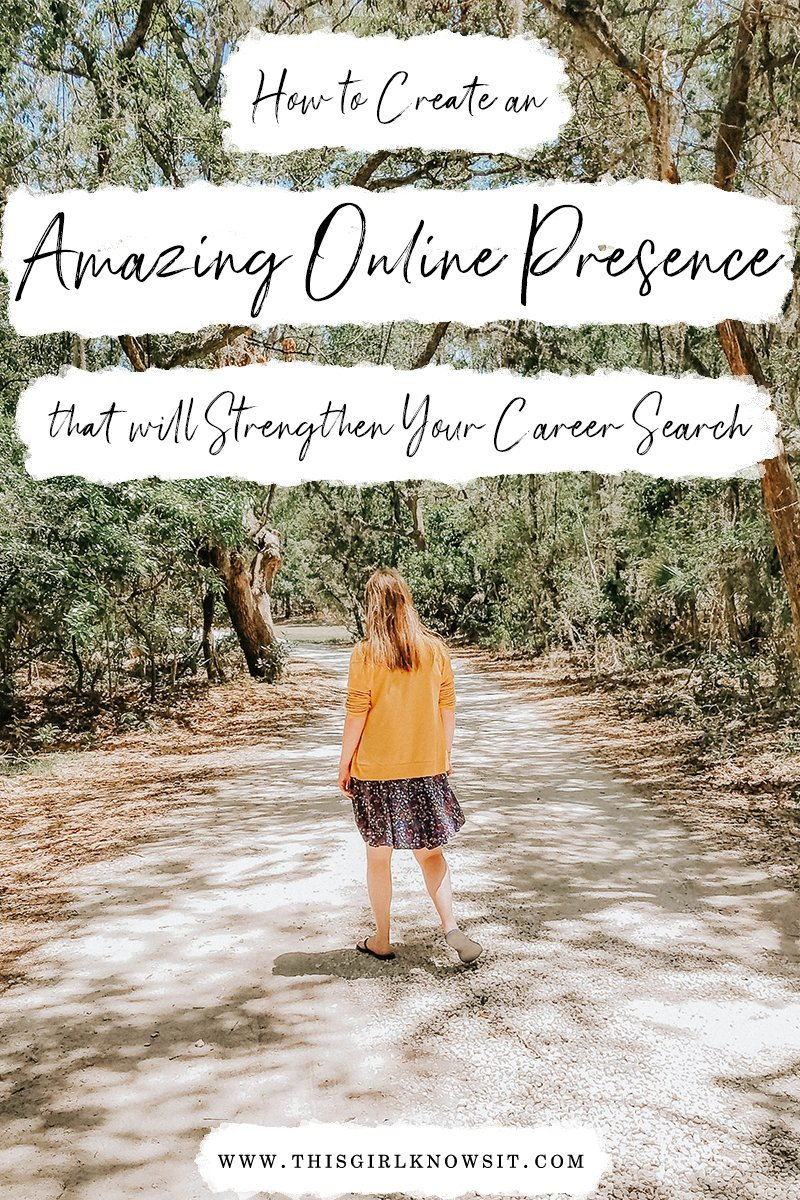 How to Create an Amazing Online Presence that will Strengthen Your Career Search