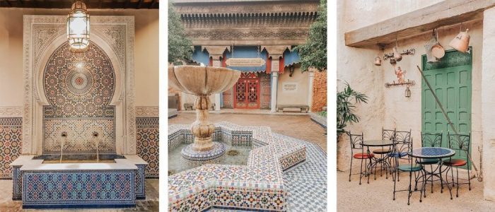 The Morocco Pavilion in Disney's Epcot