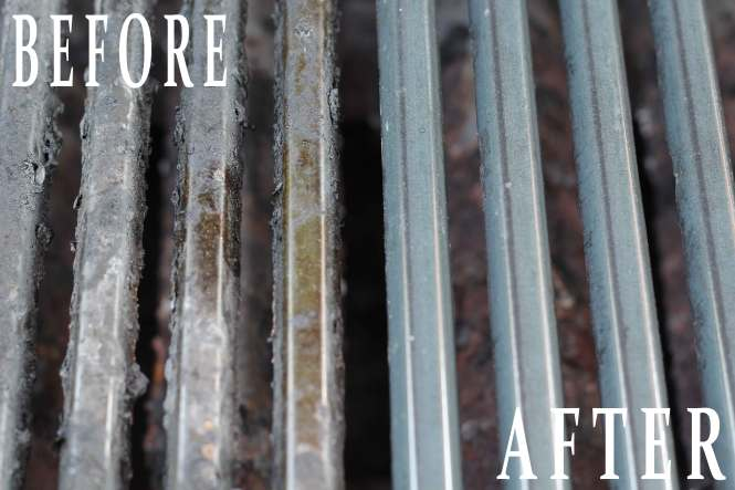 How To Clean Your Cast Iron Stove Grates Burners Without Scrubbing