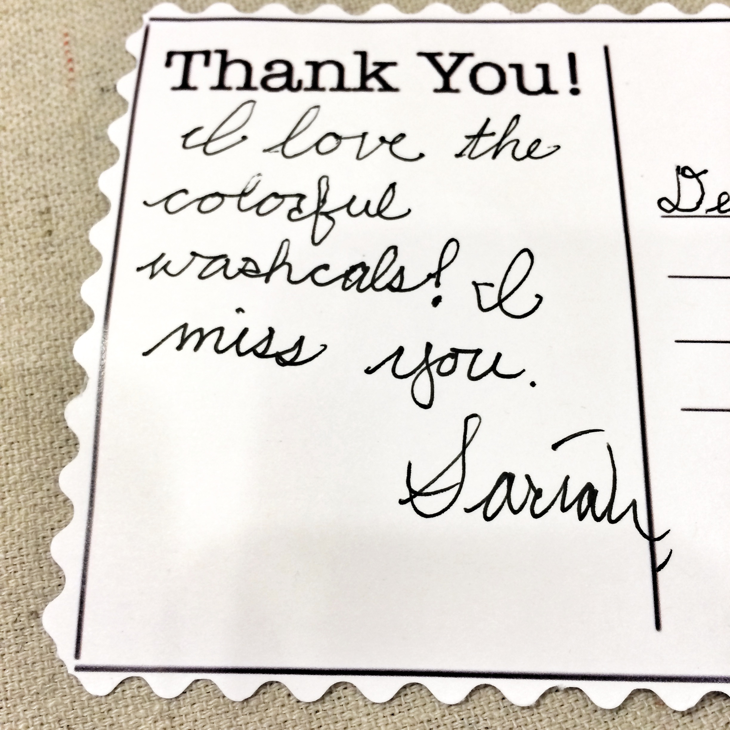 Thank You Notes Kids Can Make