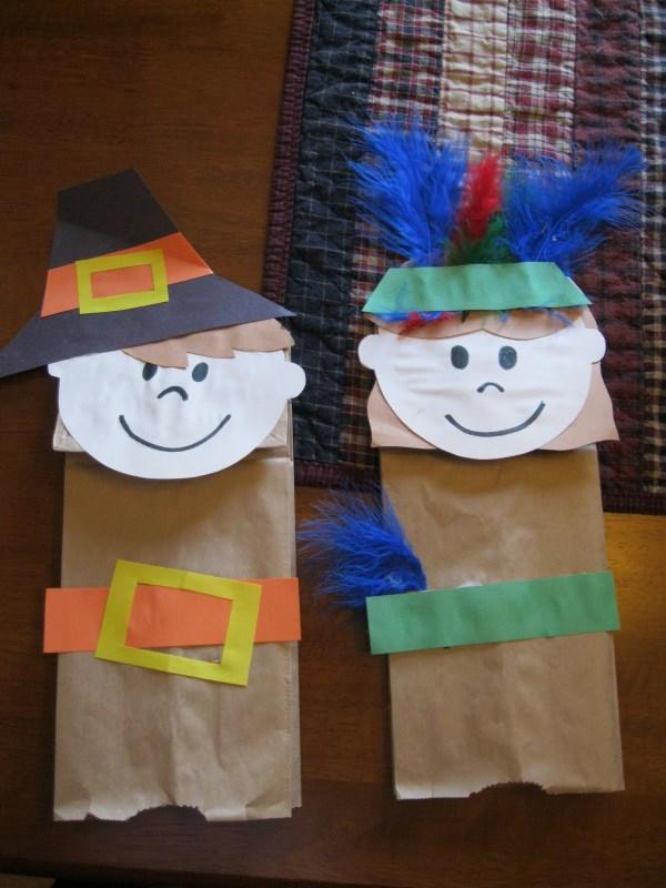 Thanksgiving Pilgrim Crafts - Grandma Fun