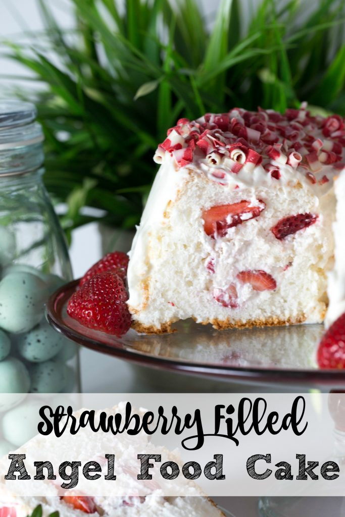 Strawberry Filled Angel Food Cake Recipe Tgif This