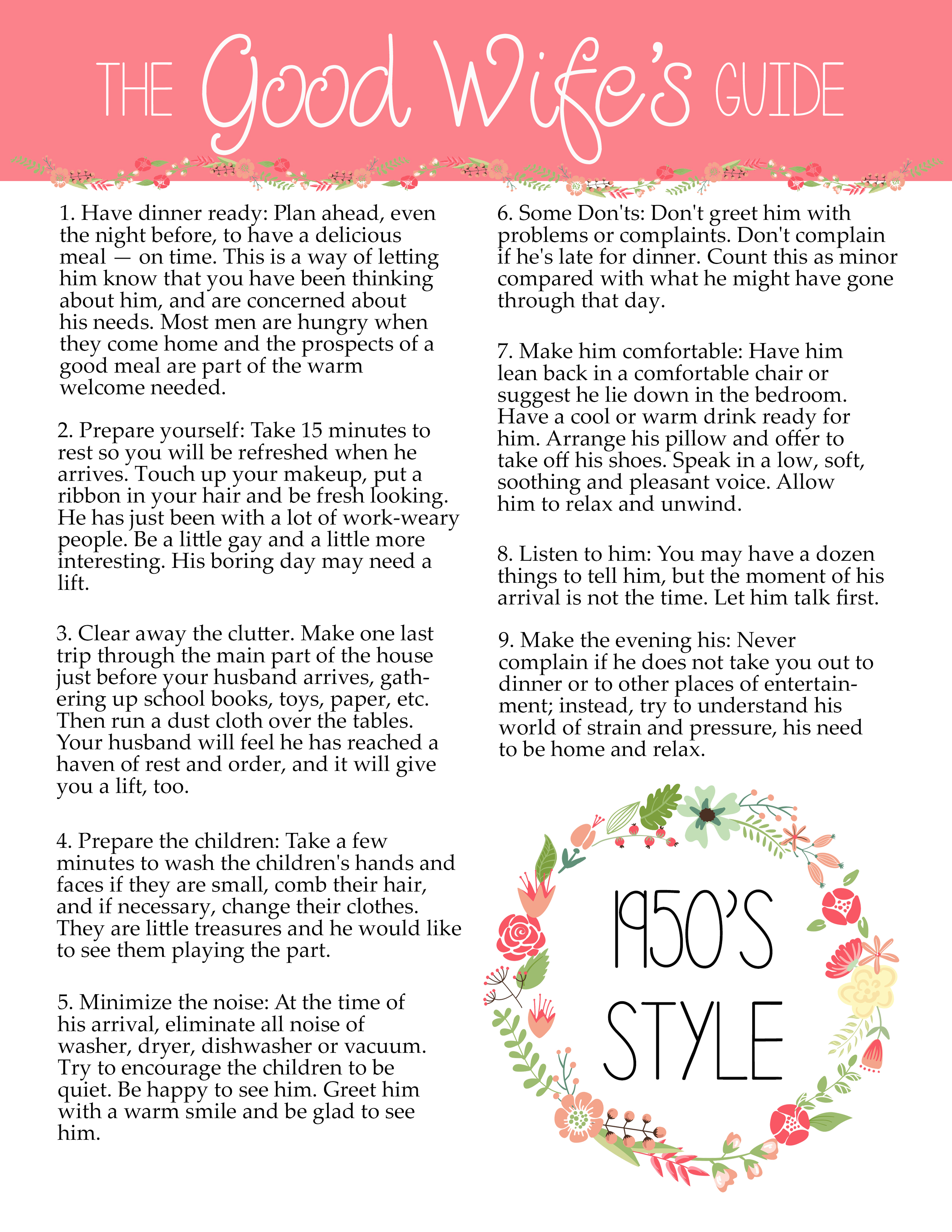 1950s Style Printable Funny Bridal Shower Game  TGIF  This Grandma is Fun