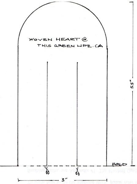 woven heart full size